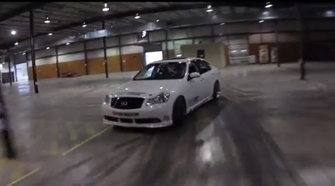 Chris Forsberg drift video