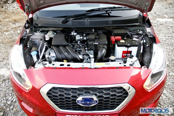 Datsun Go Engine - Full View
