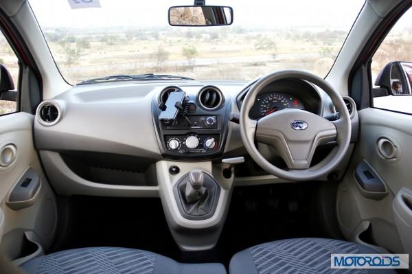 Datsun Go India review interior (17)