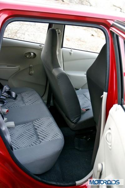 Datsun Go - Back Seat