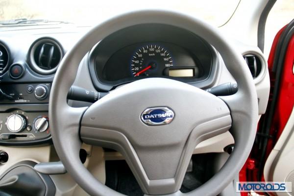 Datsun Go - Steering