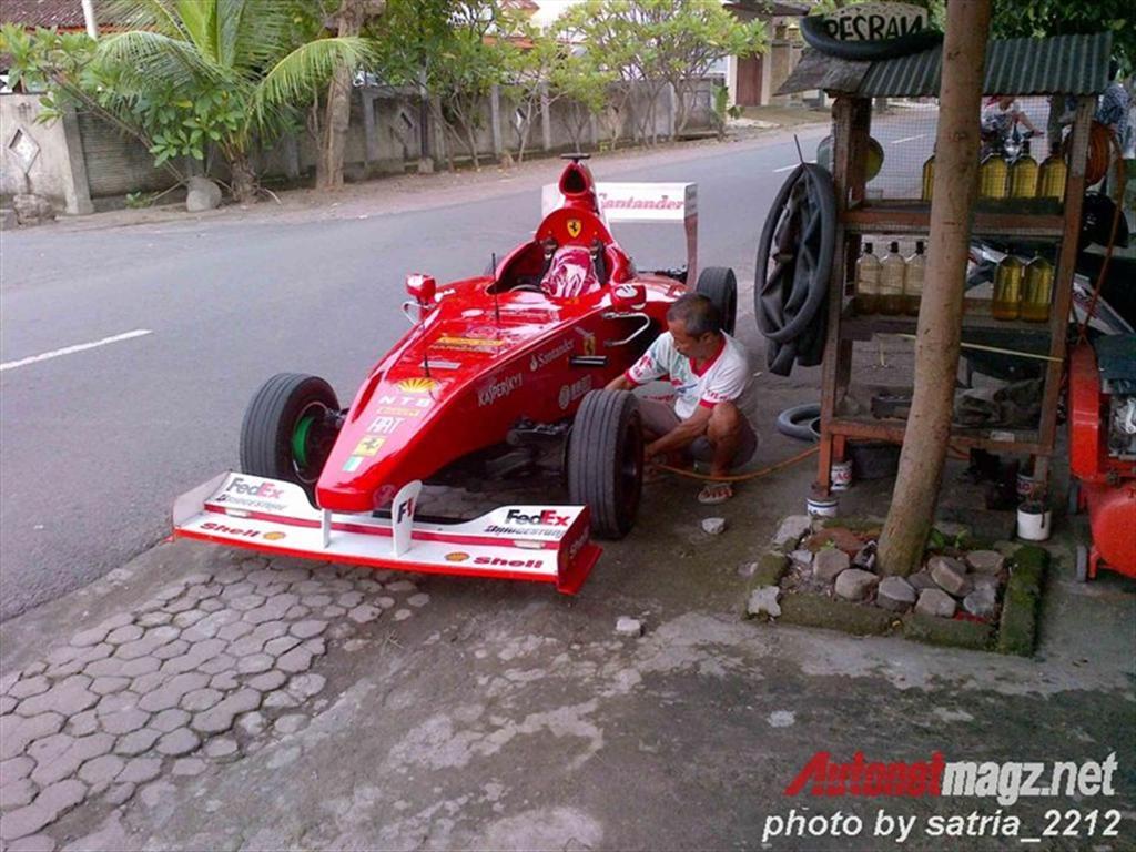 Ferrari F1 replica-2