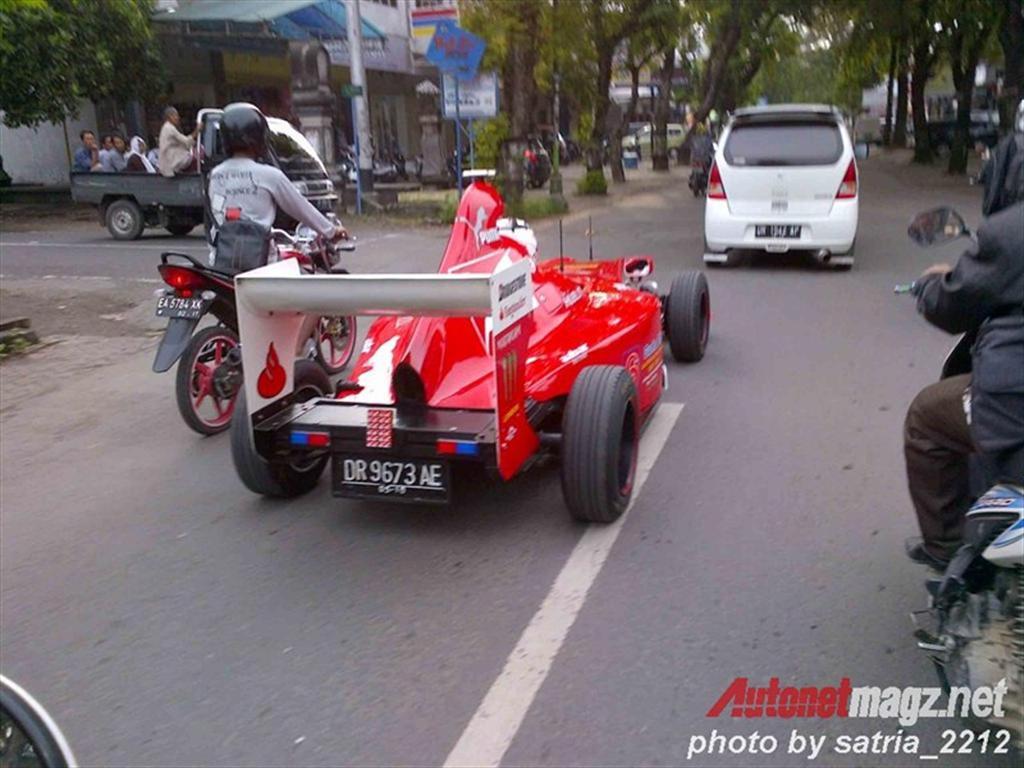 Ferrari F1 replica-3