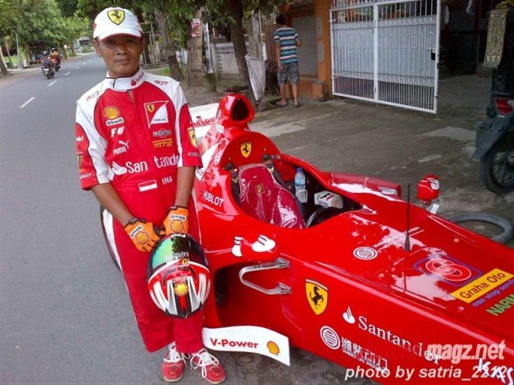 Ferrari F1 replica-5