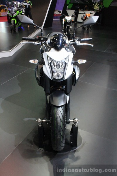 India Bound Kawasaki ER-6n Showcased at 2014 Bangkok Motor Show