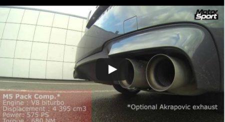 Mercedes Benz E63 AMG vs BMW M5
