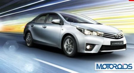 New 2014 Toyota Corolla Altis India Launch to happen on May 27; Details here