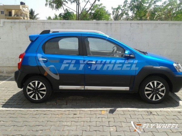 Toyota Etios Cross Spotted at a Dealership; Launch in May