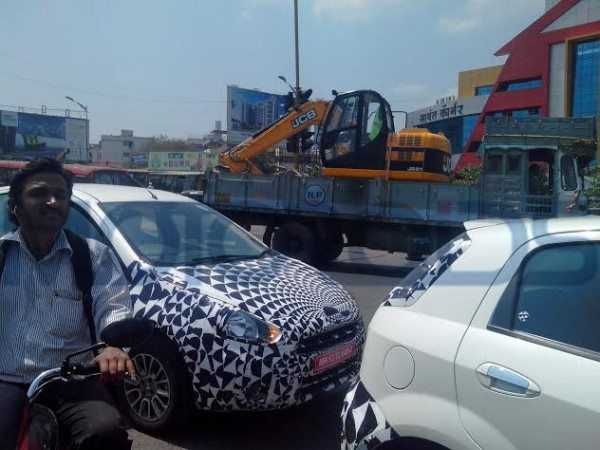 Fiat Punto Facelift Launch in India to happen soon; More spy images pour in