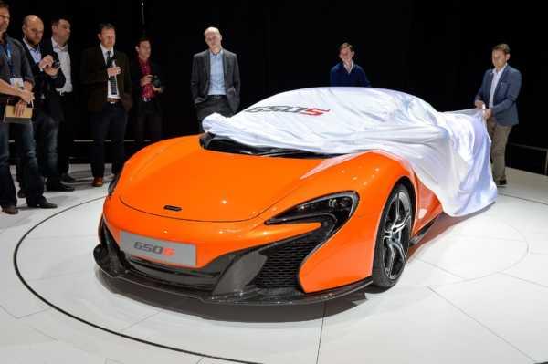 Geneva Motor Show 2014 LIVE: McLaren 650S Spider [Images & Details