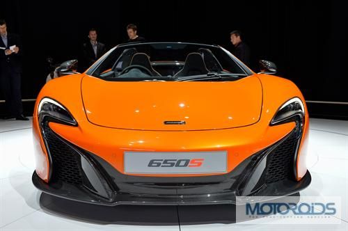 New McLaren 650S Spider- More Images and Details