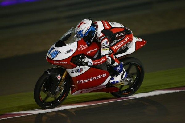 Oliverira, Moto3, Qatar MotoGP 2014