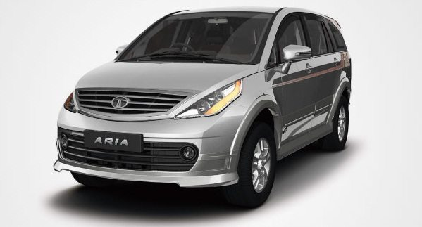 Tata Aria facelift launched; Prices start at INR 9.95 lakhs