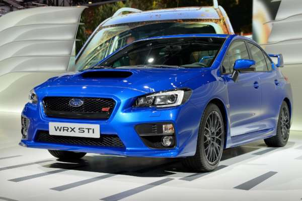 New Subaru WRX STi showcased at Geneva Motor Show 2014
