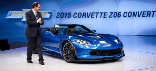 New 2015 Chevrolet Corvette Z06 Convertible bows in at New York International Auto Show