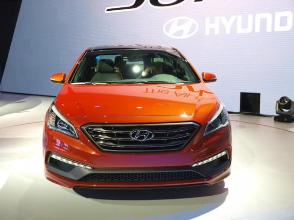 New York Auto Show 2014- 2015 Hyundai Sonata showcased