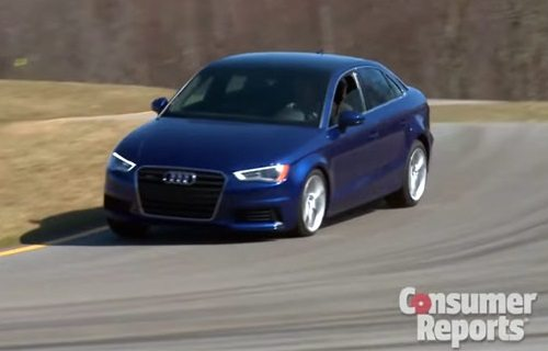 Audi A3 Sedan More Refined than Mercedes CLA — CR