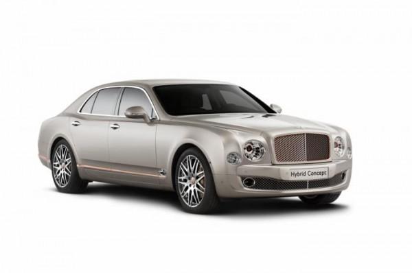 Bentley Hybrid Concept imags 1