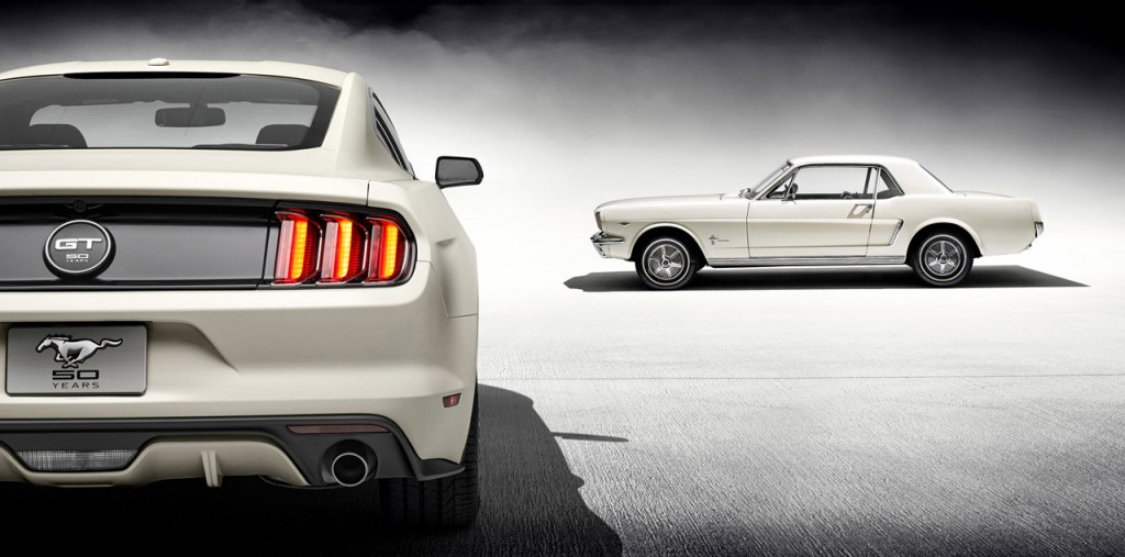Ford Mustang 50 Year Limited edition (2)