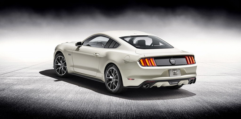 Ford Mustang 50 Year Limited edition (3)