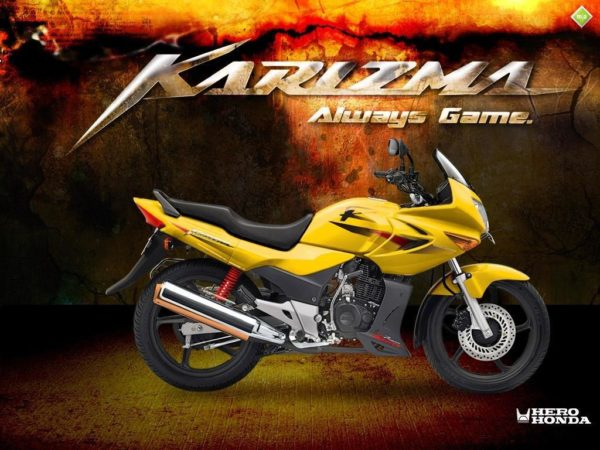 Hero Karizma R and ZMR production stopped!