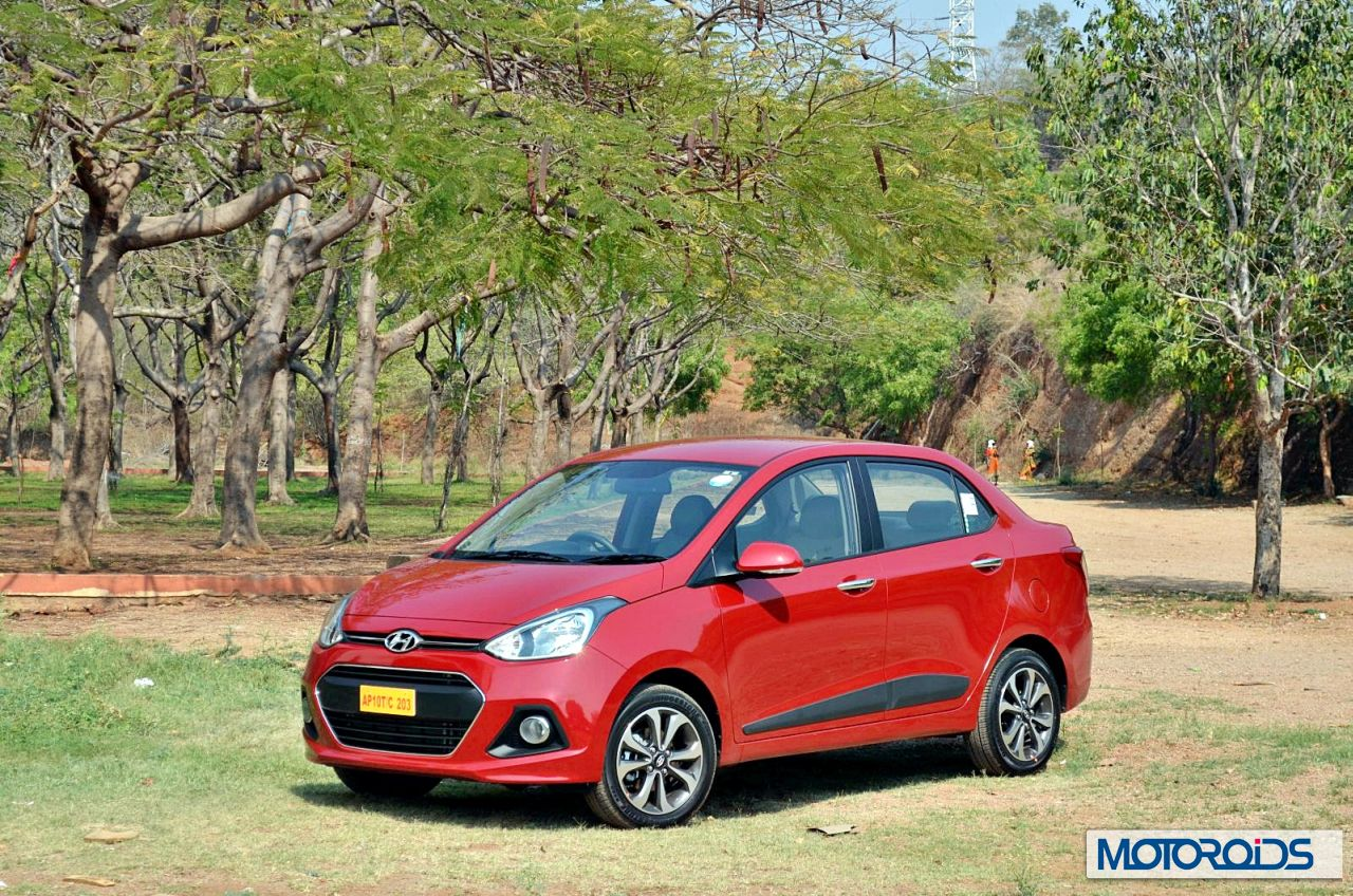Hyundai Xcent Review Drive Report Images Specs