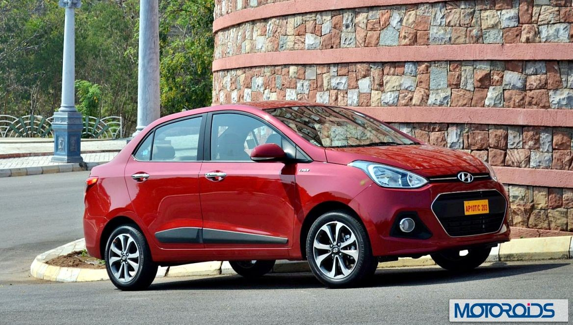 Hyundai xcent to get abs standard across range eon loses for Hyundai xcent exterior