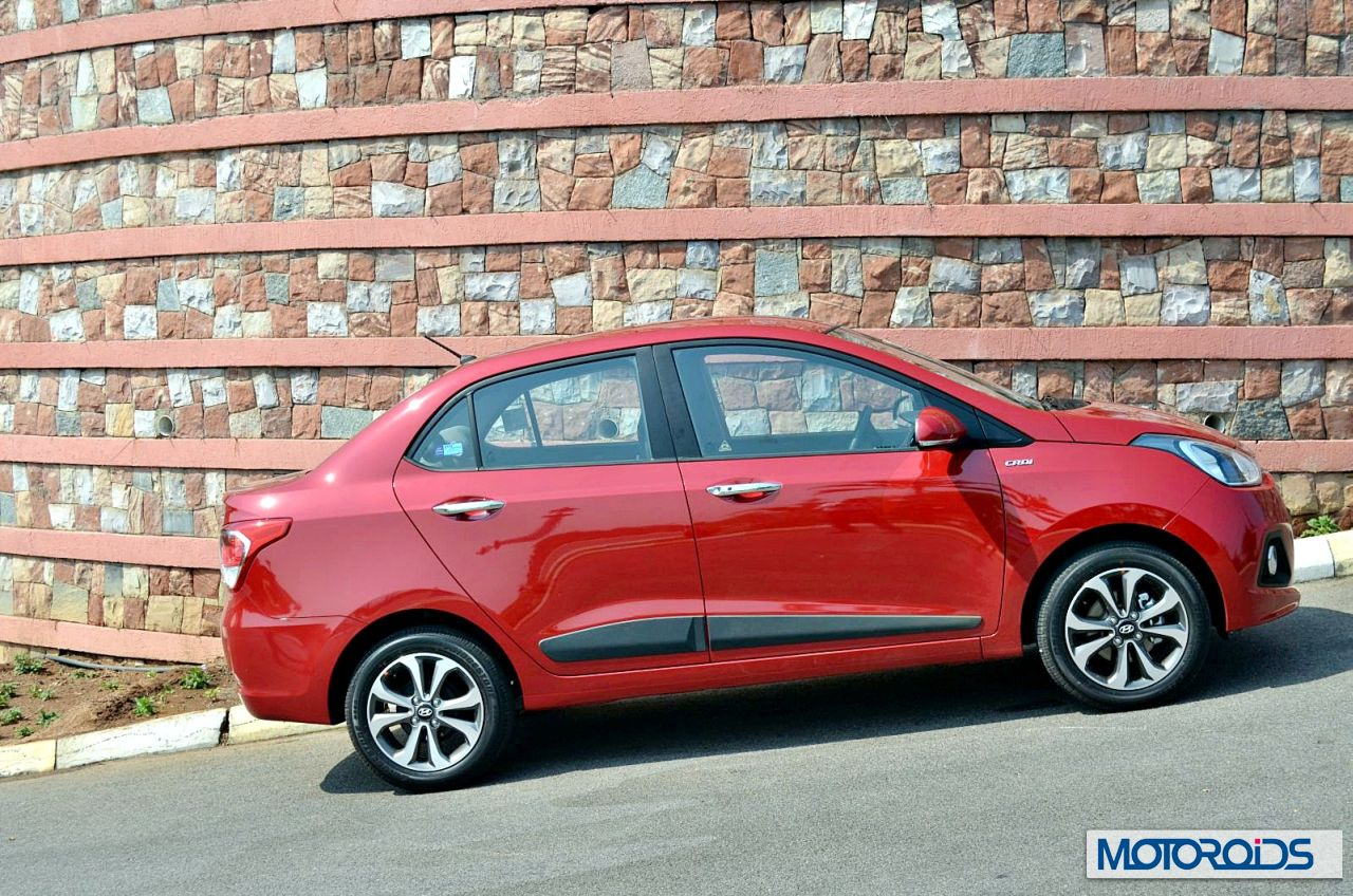 Hyundai xcent review drive report images specs for Hyundai xcent exterior