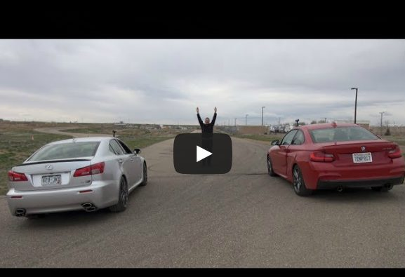 [VIDEO] BMW M235i vs. Lexus IS F – Its V8 versus inline-6 in this drag race