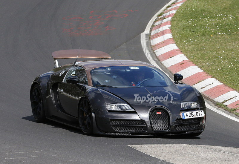 More powerful Bugatti Veyron
