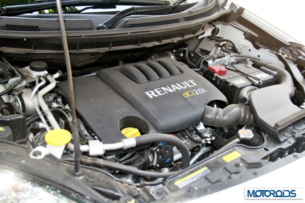 New 2014 renault Koleos engine