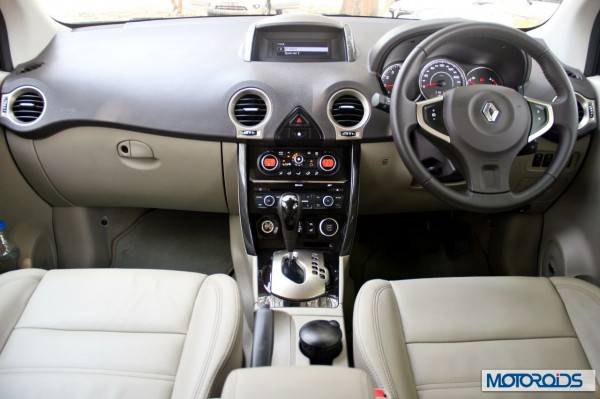 New 2014 renault Koleos interior (2)
