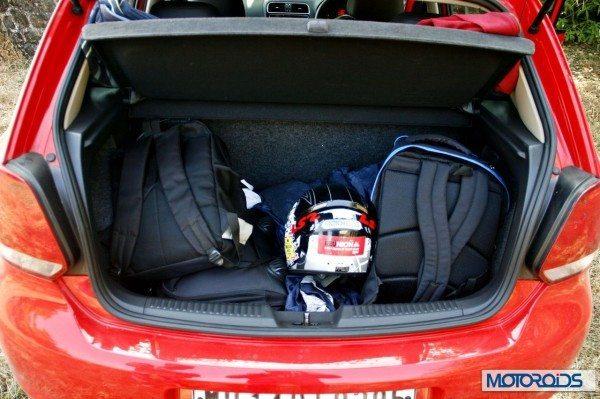 Volkswagen Polo 1.2 TSI boot