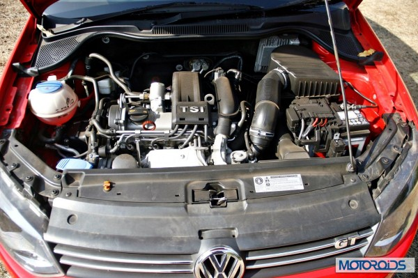 Volkswagen Polo 1.2 TSI engine