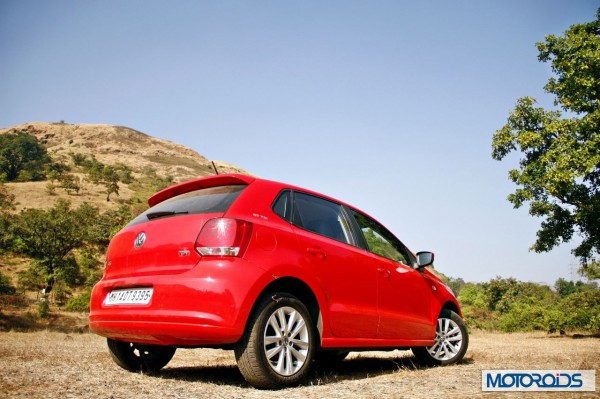 Volkswagen Polo 1.2 TSI exterior red (10)