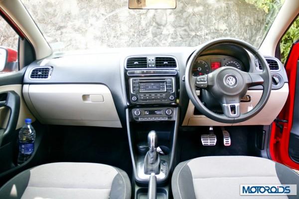 Volkswagen Polo 1.2 TSI interior (2)