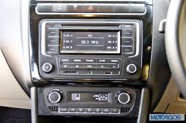 Volkswagen Polo 1.2 TSI interior (8)