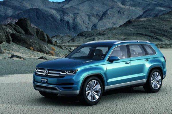 Volkswagen seven-seat crossover