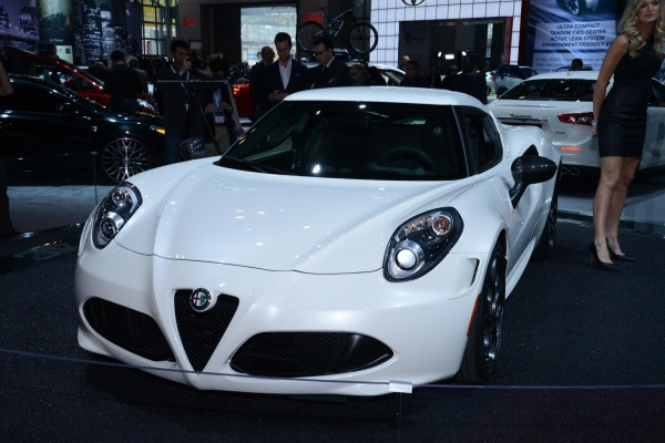 New York Auto Show 2014- Alfa Romeo 4C Showcased
