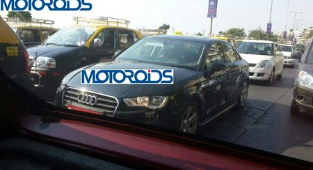 Audi A3 Sedan India Launch in July; Spied Once Again