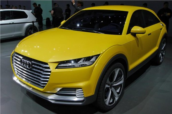 Beijing LIVE – Audi TT offroad concept at Auto China