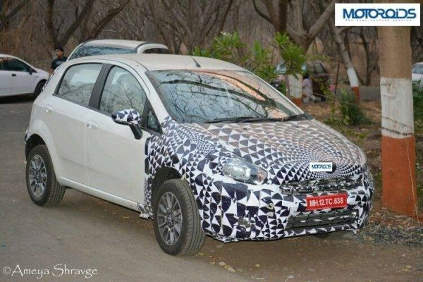 Yet another 2014 Fiat Punto facelift image pours in