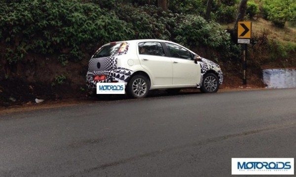 Another Fiat Punto Facelift 2014 Image Comes to Us!