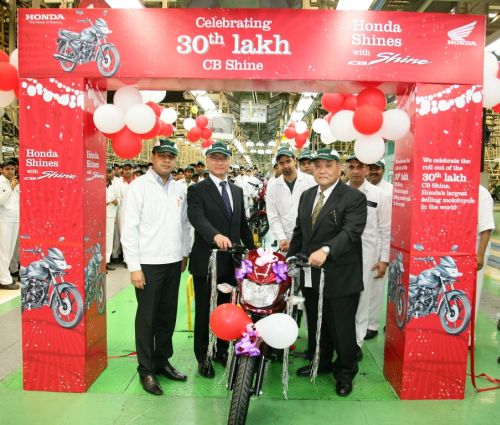 Honda CB Shine is largest selling 125cc motorcycle in India