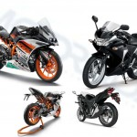 KTM RC200 vs Honda CBR250R: Spec Sheet Comparison