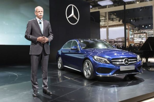 Mercedes C Class L showcased at Auto China