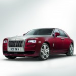 Rolls Royce Ghost Series II showcased at 2014 New York International Auto Show