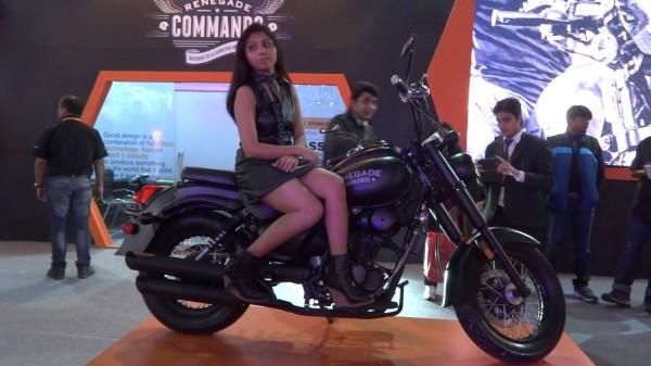 um renegade commando india launch price