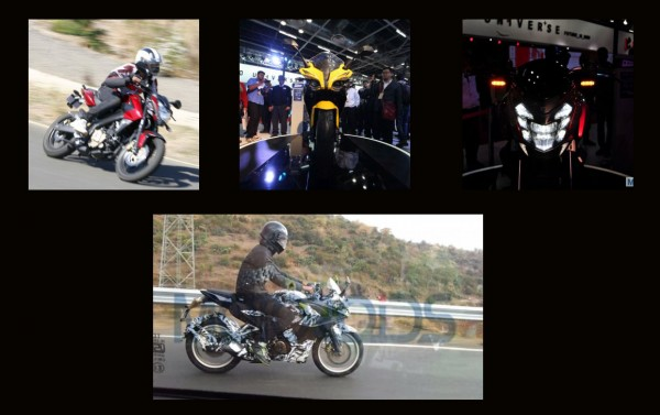 Upcoming Bajaj Pulsar bikes in India [Pulsar 180NS, SS200, SS400, CS400]
