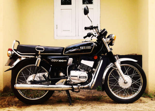 used bikes under 40000 yamaha rx 100